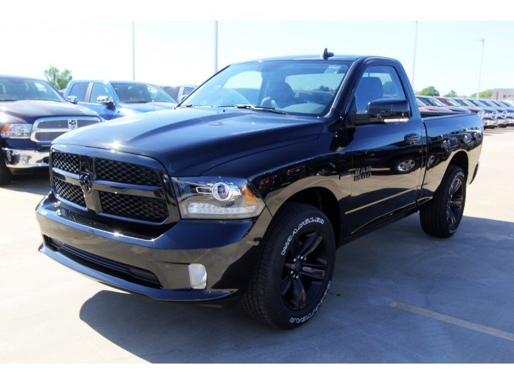 new 2017 ram 1500 night regular cab in tomball g617295 tomball dodge chrysler jeep ram. Black Bedroom Furniture Sets. Home Design Ideas